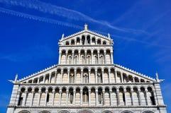中央寺院比萨 库存照片