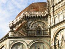 中央寺院看法在佛罗伦萨 免版税库存图片