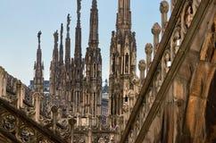 中央寺院米兰在意大利 免版税库存照片