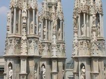 中央寺院米兰 免版税图库摄影