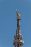 中央寺院米兰16 免版税库存照片