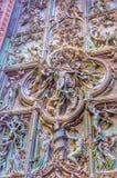中央寺院米兰 库存图片
