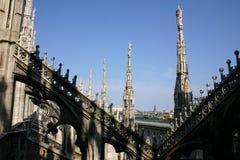 中央寺院米兰 免版税库存图片