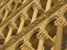 中央寺院门面 免版税图库摄影