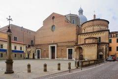 中央寺院,帕多瓦 免版税库存照片