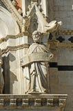 中央寺院,锡耶纳(意大利) 免版税图库摄影