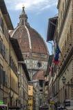 中央寺院-佛罗伦萨-意大利 库存照片