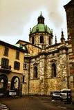 中央寺院Cathdral科莫意大利 库存图片