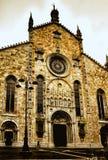 中央寺院Cathdral科莫意大利 免版税库存图片