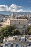 中央寺院de墨西拿西西里岛 库存图片