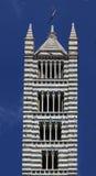 中央寺院siena 免版税库存照片