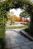 中央庭院公园 免版税库存照片