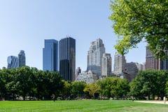 中央新的公园约克 免版税库存图片