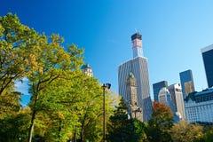 中央新的公园视图约克 免版税库存图片