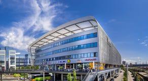 中央汽车站慕尼黑,巴伐利亚,德国 免版税库存照片