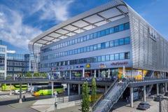 中央汽车站慕尼黑,巴伐利亚,德国 库存照片