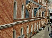 中央海军博物馆在圣彼德堡 库存图片