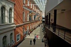 中央海军博物馆的内部在圣彼德堡 库存照片