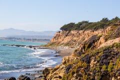 中央海岸加利福尼亚 库存照片