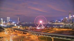 中央港口前面,香港- 股票录像