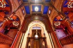 中央犹太教堂-纽约 免版税图库摄影