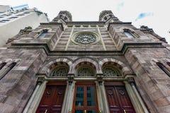 中央犹太教堂-纽约 免版税库存图片