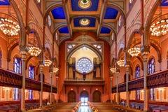 中央犹太教堂-纽约 免版税库存照片