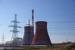 中央电暖CHP 库存图片