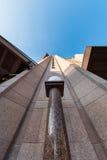 中央百货大楼修造的外部 免版税库存图片