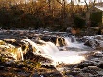 中央秋天,西部威尔士,英国 图库摄影