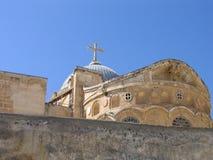 中央耶路撒冷tample 免版税图库摄影