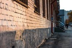 中央街道 库存照片