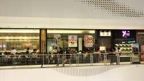 中央西部门的泰国弥生日本餐馆 免版税库存照片