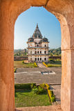 中央邦国家的历史站点的印度 图库摄影