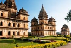 中央邦国家的著名历史站点的印度 免版税库存照片