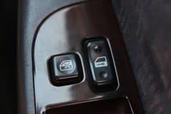 中央锁的按钮 免版税库存图片