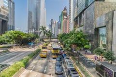 中央香港 库存图片