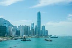中央,香港 图库摄影