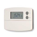 中央系统暖气定时器 库存照片