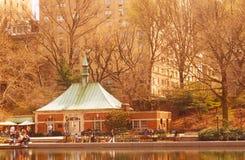 中央nyc公园 免版税库存图片