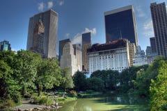 中央nyc公园 免版税图库摄影