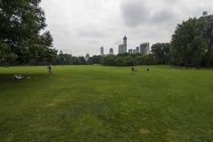 中央Parc纽约 库存照片