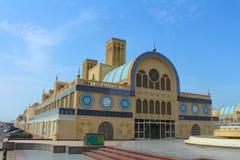 中央Souq在沙扎,阿联酋 库存图片