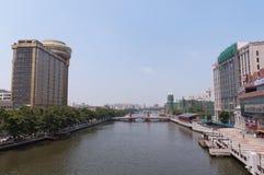 中山都市风景  图库摄影