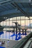 中心东方上海体育运动 库存图片