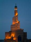 中心伊斯兰的多哈 库存图片