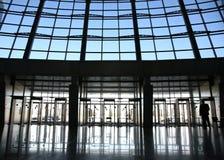 中心入口购物 库存图片