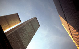 中心商业世界 免版税图库摄影