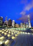 中心商务区在香港 库存照片