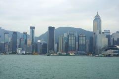 中心商务区香港 库存照片